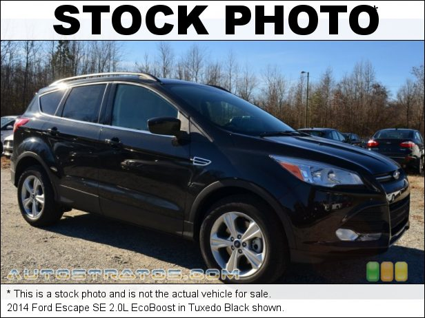 Stock photo for this 2014 Ford Escape SE 2.0L EcoBoost 2.0 Liter GTDI Turbocharged DOHC 16-Valve Ti-VCT EcoBoost 4 Cyli 6 Speed SelectShift Automatic