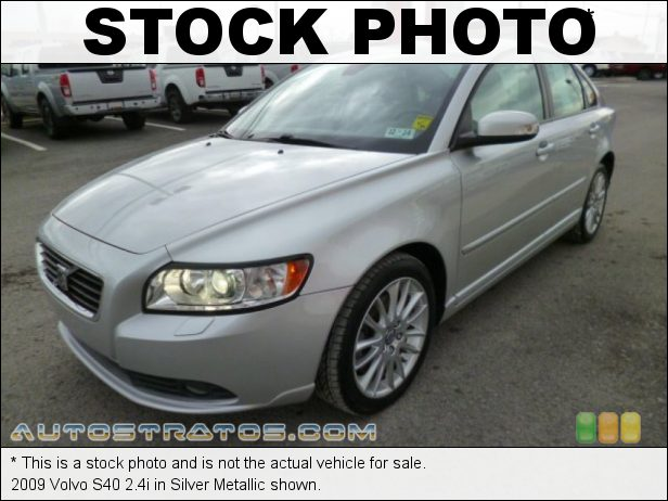 Stock photo for this 2009 Volvo S40 2.4i 2.4 Liter DOHC 20 Valve CVVT Inline 5 Cylinder 5 Speed Geartronic Automatic