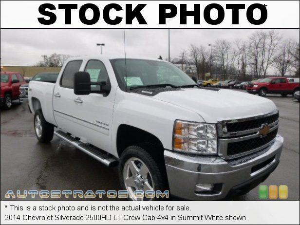 Stock photo for this 2014 Chevrolet Silverado 2500HD LT Crew Cab 4x4 6.0 Liter Flex-Fuel OHV 16-Valve VVT Vortec V8 6 Speed Automatic