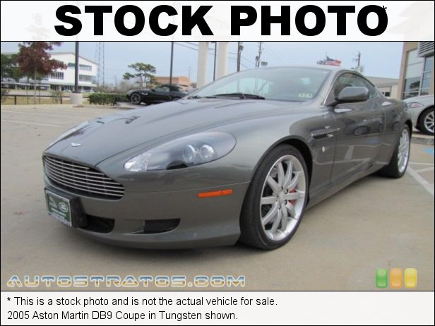 Stock photo for this 2005 Aston Martin DB9 Coupe 6.0 Liter DOHC 48 Valve V12 6 Speed Touchtronic Automatic