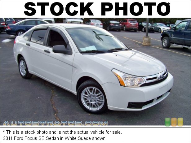Stock photo for this 2011 Ford Focus SE Sedan 2.0 Liter DOHC 16-Valve Duratec 20 4 Cylinder 4 Speed Automatic
