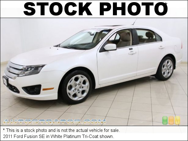 Stock photo for this 2011 Ford Fusion SE 2.5 Liter DOHC 16-Valve VVT Duratec 4 Cylinder 6 Speed Automatic