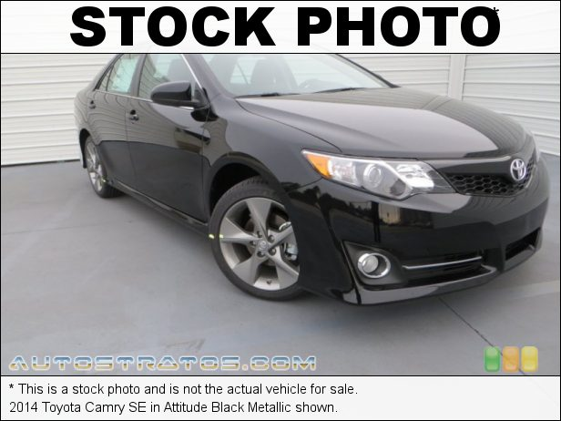Stock photo for this 2014 Toyota Camry  2.5 Liter DOHC 16-Valve Dual VVT-i 4 Cylinder 6 Speed ECT-i Automatic