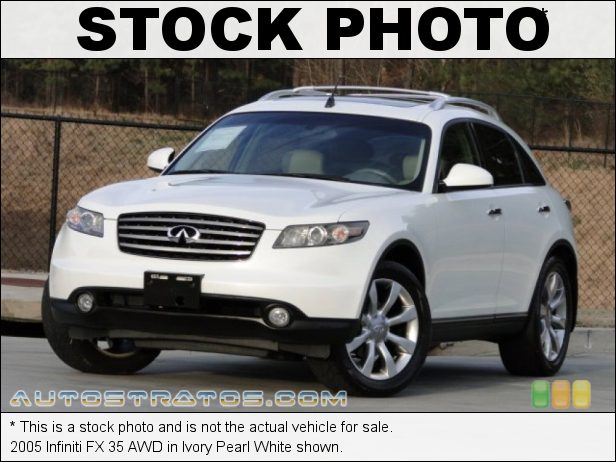 Stock photo for this 2005 Infiniti FX 35 AWD 3.5 Liter DOHC 24-Valve V6 5 Speed Automatic