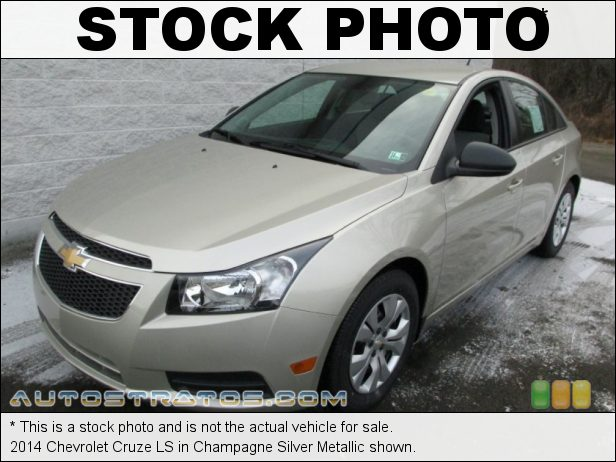 Stock photo for this 2014 Chevrolet Cruze LS 1.8 Liter DOHC 16-Valve VVT ECOTEC 4 Cylinder 6 Speed Automatic