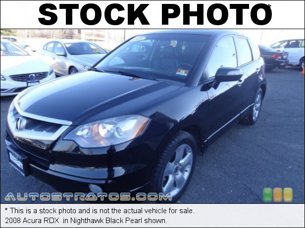 Stock photo for this 2008 Acura RDX  2.3 Liter Turbocharged DOHC 16-Valve i-VTEC 4 Cylinder 5 Speed Automatic