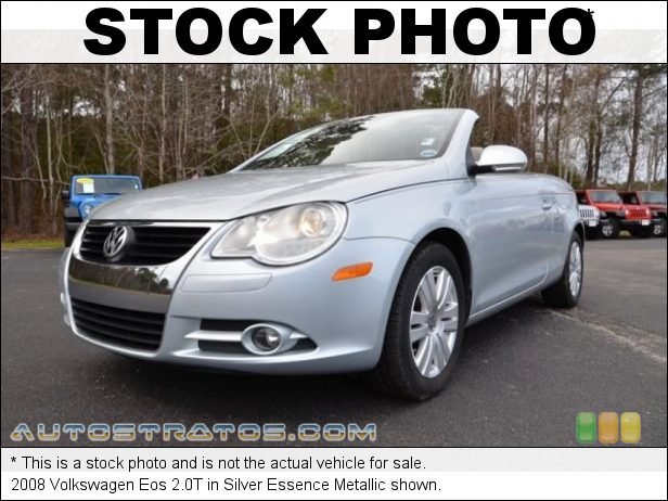 Stock photo for this 2008 Volkswagen Eos 2.0T 2.0 Liter FSI Turbocharged DOHC 16-Valve 4 Cylinder 6 Speed DSG Double-Clutch Automatic