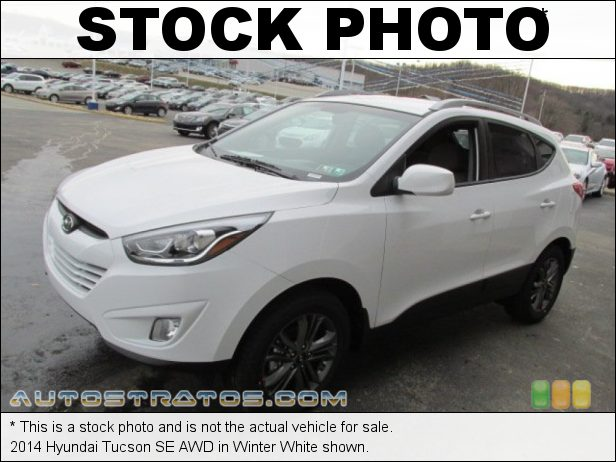 Stock photo for this 2014 Hyundai Tucson SE AWD 2.4 Liter GDI DOHC 16-Valve CVVT 4 Cylinder 6 Speed Shiftronic Automatic