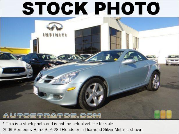 Stock photo for this 2006 Mercedes-Benz SLK 280 Roadster 3.0 Liter DOHC 24-Valve V6 7 Speed Automatic