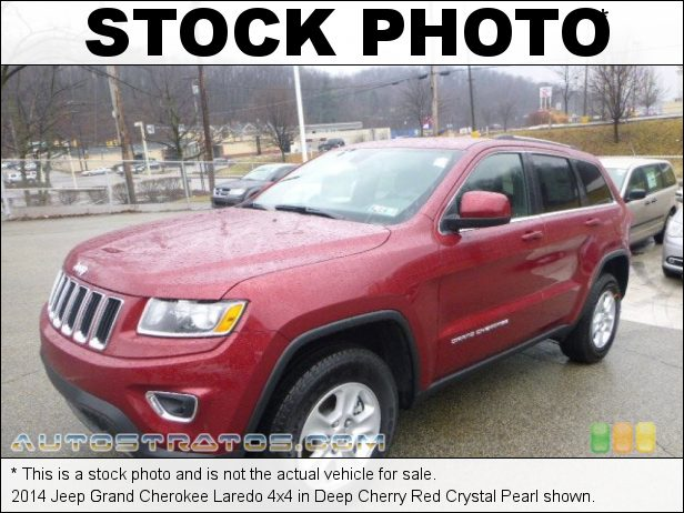 Stock photo for this 2014 Jeep Grand Cherokee Laredo 4x4 3.6 Liter DOHC 24-Valve VVT Pentastar V6 8 Speed Automatic