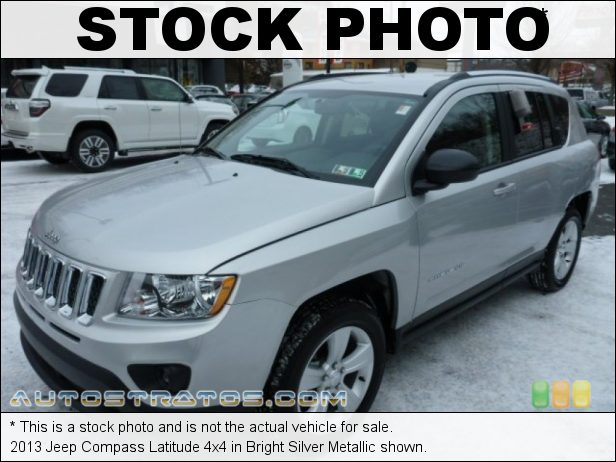 Stock photo for this 2013 Jeep Compass Latitude 4x4 2.4 Liter DOHC 16-Valve Dual VVT 4 Cylinder CVT II Automatic