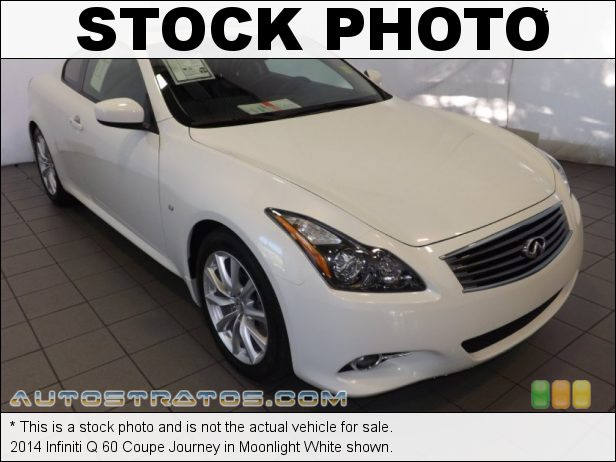 Stock photo for this 2014 Infiniti Q Coupe 3.7 Liter DOHC 24-Valve CVTCS VVEL V6 6 Speed Manual