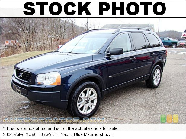 Stock photo for this 2004 Volvo XC90 T6 AWD 2.9 Liter Twin-Turbo DOHC 24-Valve Inline 6 Cylinder 4 Speed  Automatic