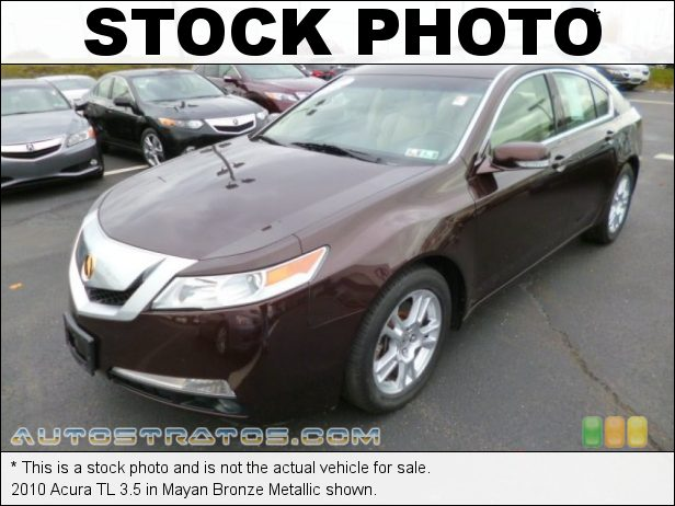 Stock photo for this 2010 Acura TL 3.5 3.5 Liter DOHC 24-Valve VTEC V6 5 Speed SportShift Automatic