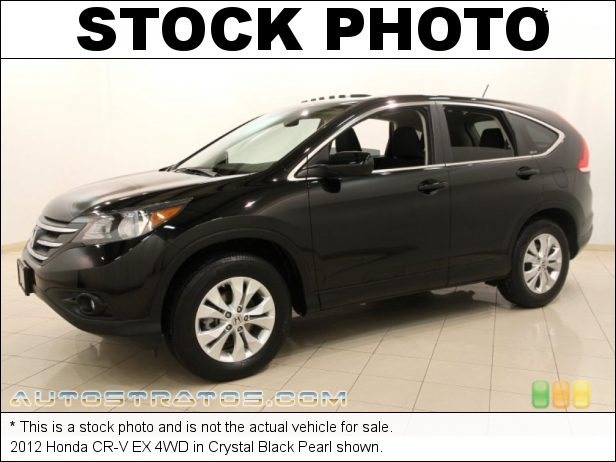 Stock photo for this 2012 Honda CR-V EX 4WD 2.4 Liter DOHC 16-Valve i-VTEC 4 Cylinder 5 Speed Automatic