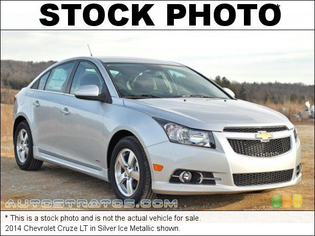 Stock photo for this 2014 Chevrolet Cruze LT 1.4 Liter Turbocharged DOHC 16-Valve VVT ECOTEC 4 Cylinder 6 Speed Automatic