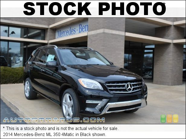 Stock photo for this 2014 Mercedes-Benz ML 350 4Matic 3.5 Liter DI DOHC 24-Valve VVT V6 7 Speed Automatic