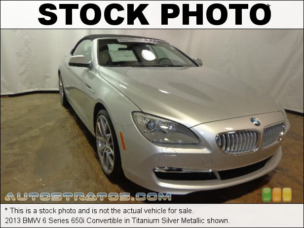 Stock photo for this 2013 BMW 6 Series 650i Convertible 4.4 Liter DI TwinPower Turbocharged DOHC 32-Valve VVT V8 8 Speed Sport Automatic
