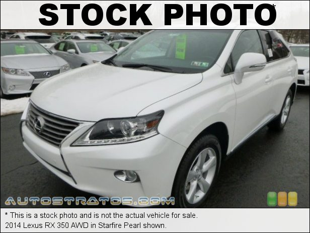 Stock photo for this 2014 Lexus RX 350 AWD 3.5 Liter DOHC 24-Valve VVT-i V6 6 Speed ECT-i Automatic