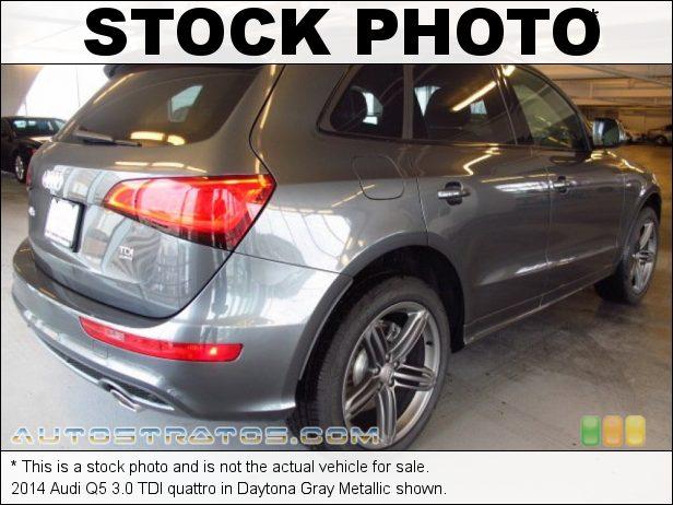 Stock photo for this 2014 Audi Q5 3.0 TDI quattro 3.0 Liter TDI DOHC 24-Valve Turbo-Diesel V6 8 Speed Tiptronic Automatic