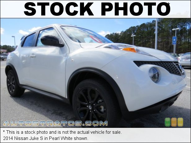 Stock photo for this 2014 Nissan Juke S 1.6 Liter DIG Turbocharged DOHC 16-Valve CVTCS 4 Cylinder Xtronic CVT Automatic