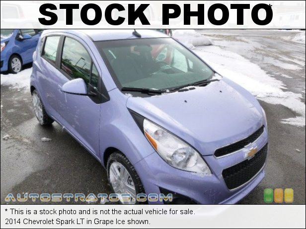 Stock photo for this 2014 Chevrolet Spark LT 1.2 Liter DOHC 16-Valve VVT 4 Cylinder CVT Automatic