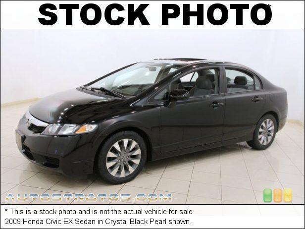 Stock photo for this 2009 Honda Civic EX Sedan 1.8 Liter SOHC 16-Valve i-VTEC 4 Cylinder 5 Speed Automatic