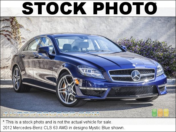 Stock photo for this 2012 Mercedes-Benz CLS 63 AMG 5.5 Liter AMG Biturbo DI DOHC 32-Vale VVT V8 7 Speed AMG Speedshift Plus Automatic