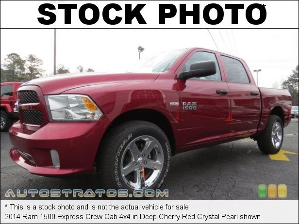Stock photo for this 2014 Ram 1500 Crew Cab 4x4 5.7 Liter HEMI OHV 16-Valve VVT MDS V8 6 Speed Automatic