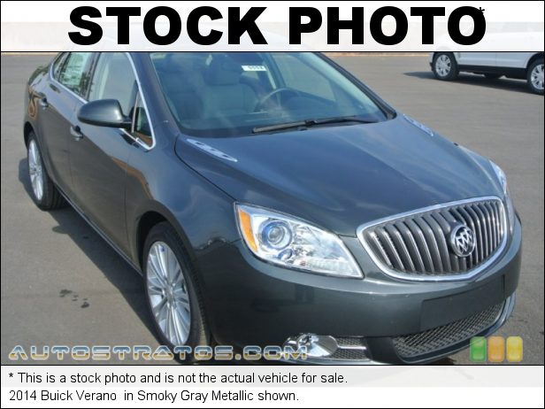 Stock photo for this 2014 Buick Verano  2.4 Liter DI DOHC 16-Valve VVT ECOTEC 4 Cylinder 6 Speed Automatic