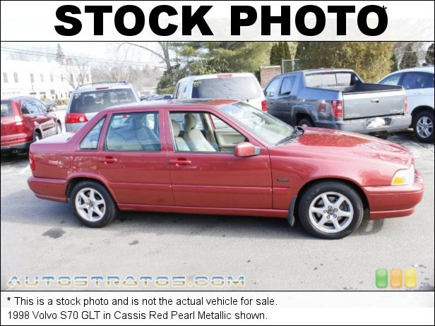 Stock photo for this 1999 Volvo S70 GLT 2.4 Liter DOHC 20-Valve 5 Cylinder 4 Speed Automatic