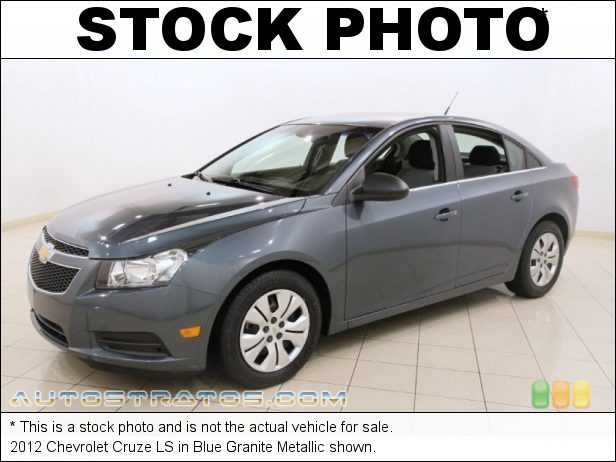 Stock photo for this 2012 Chevrolet Cruze LS 1.8 Liter DOHC 16-Valve VVT 4 Cylinder 6 Speed Automatic