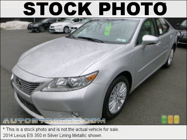 Stock photo for this 2014 Lexus ES 350 3.5 Liter DOHC 24-Valve VVT-i V6 6 Speed ECT-i Automatic