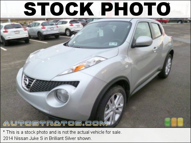 Stock photo for this 2014 Nissan Juke  1.6 Liter DIG Turbocharged DOHC 16-Valve CVTCS 4 Cylinder Xtronic CVT Automatic