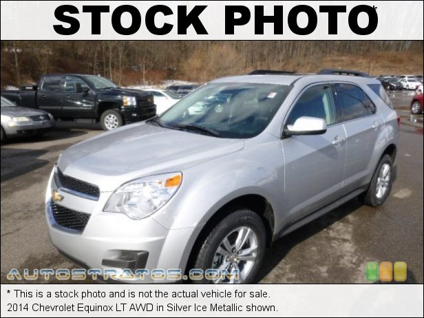 Stock photo for this 2014 Chevrolet Equinox LT AWD 2.4 Liter SIDI DOHC 16-Valve VVT 4 Cylinder 6 Speed Automatic