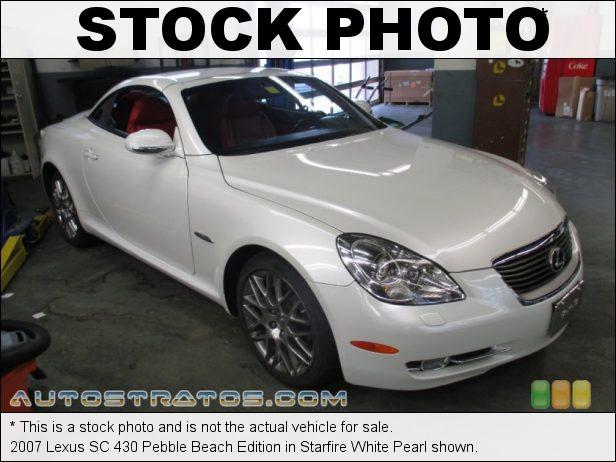 Stock photo for this 2007 Lexus SC 430 4.3 Liter DOHC 32-Valve VVT-i V8 6 Speed Automatic