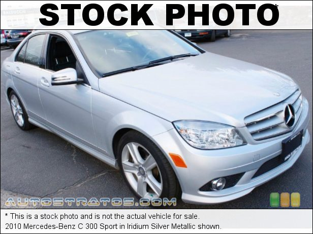 Stock photo for this 2010 Mercedes-Benz C 300 3.0 Liter DOHC 24-Valve VVT V6 7 Speed Automatic