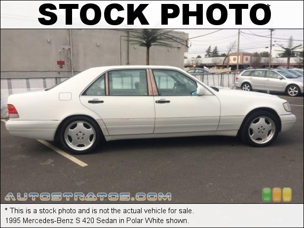 Stock photo for this 1993 Mercedes-Benz S Class 400 SEL 4.2 Liter DOHC 32-Valve V8 4 Speed Automatic