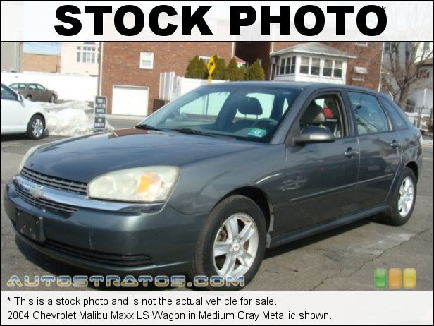 Stock photo for this 2004 Chevrolet Malibu Maxx LS Wagon 3.5 Liter OHV 12-Valve V6 4 Speed Automatic