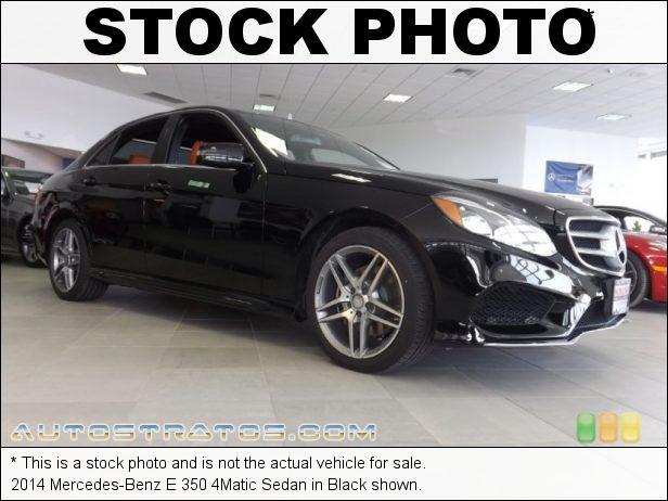 Stock photo for this 2014 Mercedes-Benz E 350 4Matic Sedan 3.5 Liter DI DOHC 24-Valve VVT V6 7 Speed Automatic