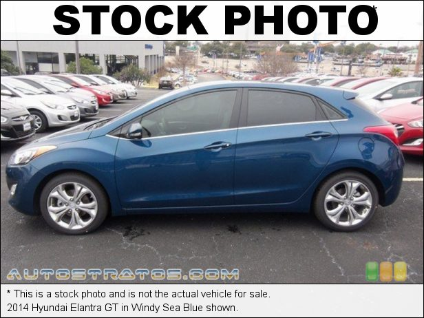 Stock photo for this 2014 Hyundai Elantra GT 2.0 Liter GDI DOHC 16-Valve 4 Cylinder 6 Speed Automatic