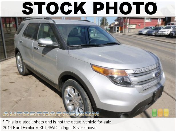 Stock photo for this 2014 Ford Explorer XLT 4WD 3.5 Liter DOHC 24-Valve Ti-VCT V6 6 Speed Automatic