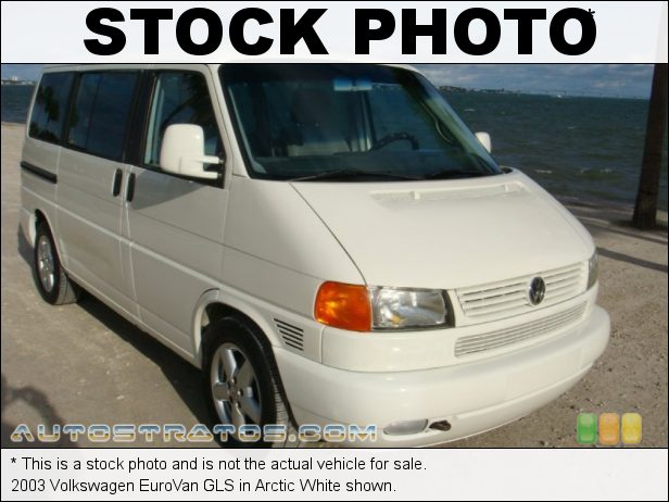 Stock photo for this 2003 Volkswagen EuroVan GLS 2.8 Liter DOHC 24-Valve V6 4 Speed Automatic