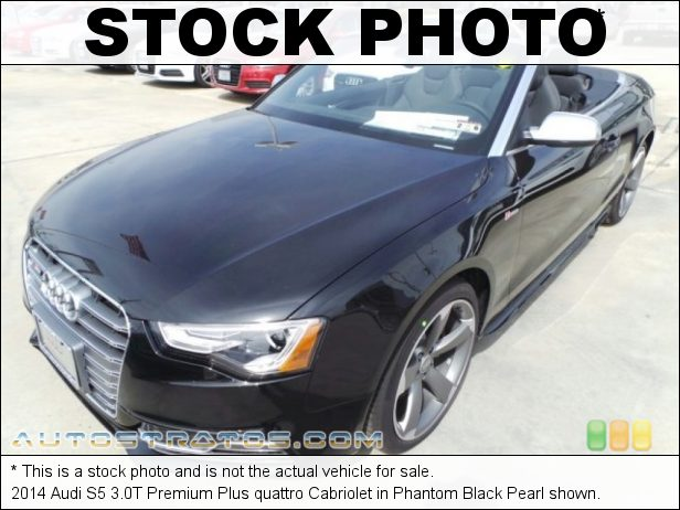 Stock photo for this 2014 Audi S5 3.0T Premium Plus quattro Cabriolet 3.0 Liter Supercharged TFSI DOHC 24-Valve VVT V6 7 Speed S tronic Dual-Clutch Automatic