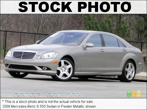 Stock photo for this 2009 Mercedes-Benz S 550 Sedan 5.5 Liter DOHC 32-Valve VVT V8 7 Speed Automatic