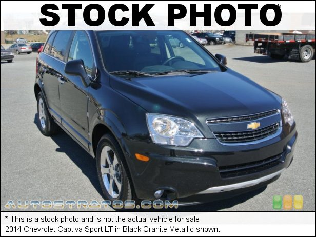 Stock photo for this 2014 Chevrolet Captiva Sport LT 2.4 Liter SIDI DOHC 16-Valve VVT 4 Cylinder 6 Speed Automatic