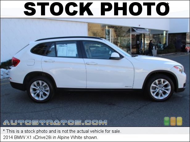 Stock photo for this 2014 BMW X1 xDrive28i 2.0 Liter DI TwinPower Turbocharged DOHC 16-Valve VVT 4 Cylinder 8 Speed Steptronic Automatic