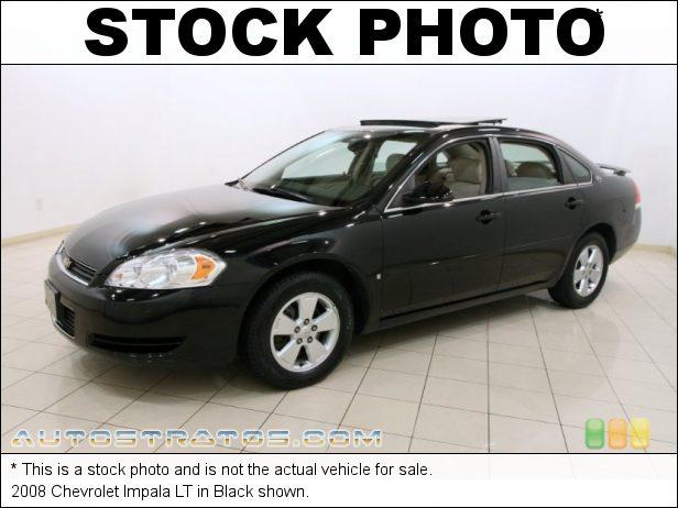 Stock photo for this 2008 Chevrolet Impala LT 3.5L Flex Fuel OHV 12V VVT LZE V6 4 Speed Automatic