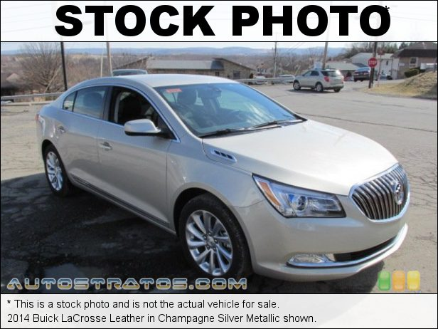 Stock photo for this 2014 Buick LaCrosse Leather 3.6 Liter SIDI DOHC 24-Valve VVT V6 6 Speed Automatic