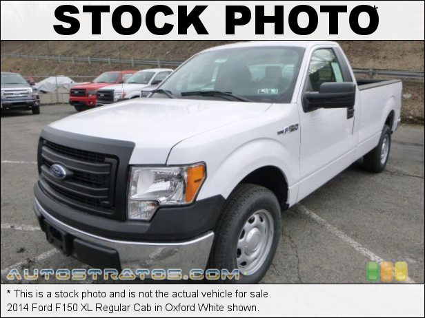 Stock photo for this 2014 Ford F150 XL Regular Cab 5.0 Liter Flex-Fuel DOHC 32-Valve Ti-VCT V8 6 Speed Automatic